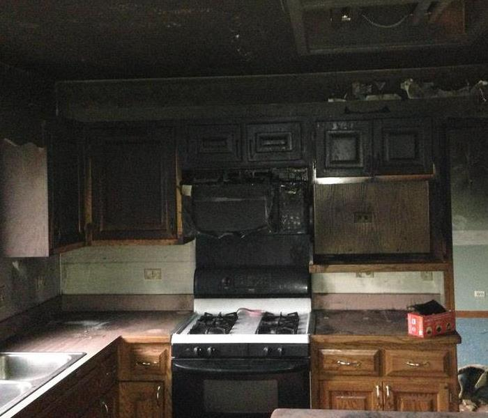 Damages to Kitchen after Fire